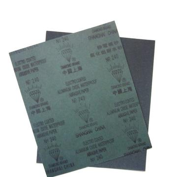 钻石 氧化铝耐水砂纸,320#,100张/包