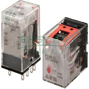 欧姆龙继电器,my2n-gs 8脚 dc24v(批量)