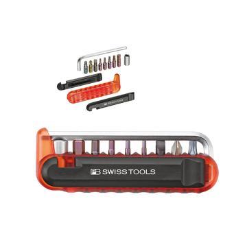 PB SWISS TOOLS 自行车工具混合12套件(红) PB 470.Red