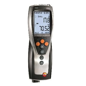 德图/Testo 温湿度仪,探头另配,testo 635-2,订货号:0563 6352