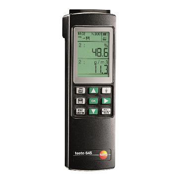 德图/Testo  testo 645 工业温湿度仪,探头需另配,订货号:0560 6450