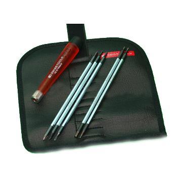 PB SWISS TOOLS 精密可换杆螺丝刀组装5件套带可更换刀头 PB 511