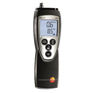 德圖/Testo 差壓測量儀, 0~20hPa,testo 512,訂貨號:0560 5127
