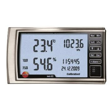 德圖/Testo 數字式溫濕度大氣壓力表,testo 622,訂貨號:0560 6220