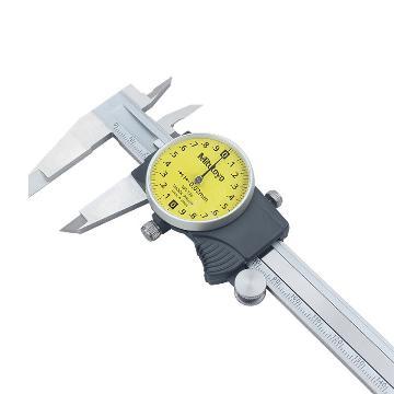 三豐 mitutoyo 帶表卡尺,505系列 0-150mm 0.01mm,505-732(505-681升級型),不含第三方檢測