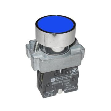 施耐德Schneider XB2 平头按钮(ZB2BZ101C+ZB2BA6C),XB2BA61C