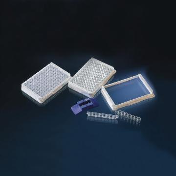 Nunc-ImmunoTMLockWellTM板条,带框,每框96孔聚苯乙烯,外部尺寸:128*86mm,规格,C8,表面MaxiSorp