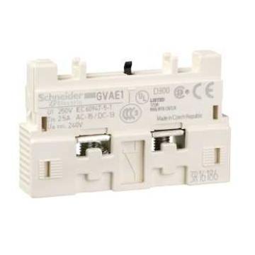 施耐德 电机保护断路器辅助触点(正装),GVAE1
