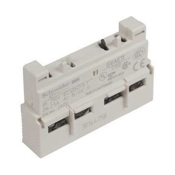施耐德 电机保护断路器辅助触点(正装),GVAE11