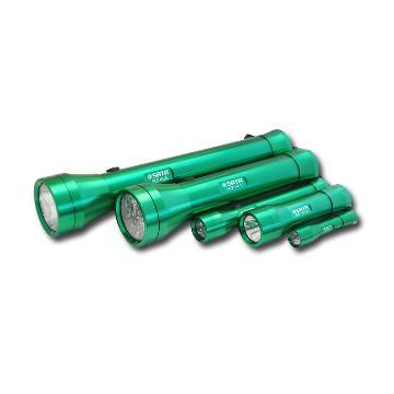 世达 90732A 铝合金远射LED手电筒 适配2节5号电池(不含电池)