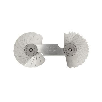 三丰 mitutoyo 半径规,186系列 7.5-15mm,186-106