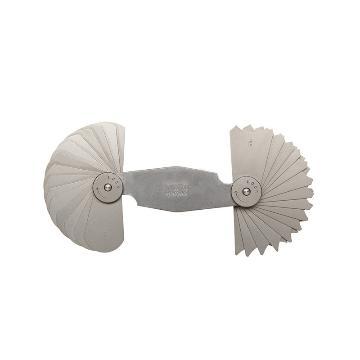 三丰 mitutoyo 半径规,186系列 15.5-25mm,186-107,不含第三方检测