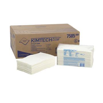金佰利擦拭布,KIMTECH* PREP 专用粘尘布75850A,406x228mm 100张/包 4包/ 箱 单位:箱