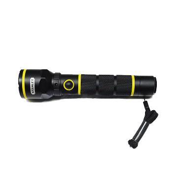 史丹利 充电式手电筒,LED光源3W,STMT95154-8-23,含充电器电池
