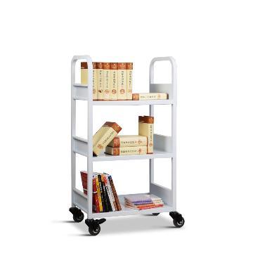 燮晨 办公、图书用推车,尺寸(mm)长宽高:600*320*1080 层间距(mm):320,RCA-3S-LIB01