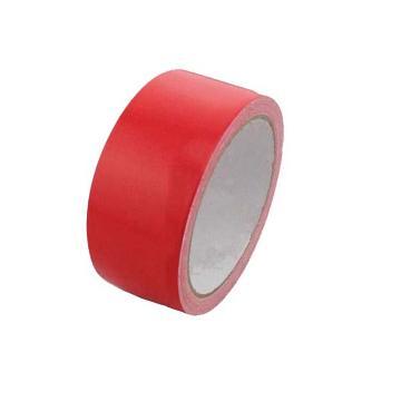 安賽瑞 地板劃線膠帶,高性能自粘性PVC材料,50mm×22m,紅色,14312