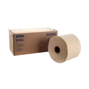 金佰利工业擦拭纸,WYPALL L20 大卷式82020,550张/卷 2卷/箱 单位:箱