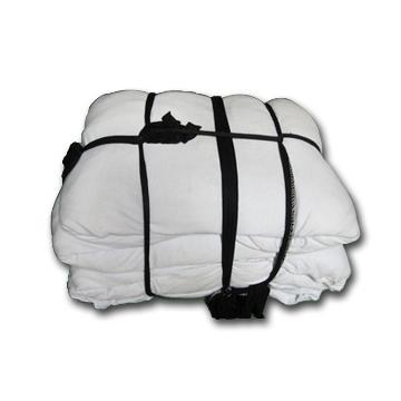 混色全棉抹布,白色混黄色,10Kg/捆,宽度40cm左右 长度70cm以内 棉成分95% 单位:捆