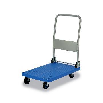微静音单层折倒式手扶手推车,轮子类型:铁支架轮,承重(kg):150KG