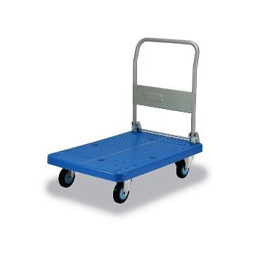 微静音单层折倒式手扶手推车,轮子类型:铁支架轮,承重(kg):300KG