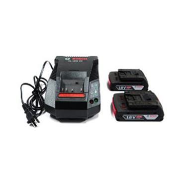 博世电池套装,2电1充套装18V/2.0Ah,1600A001AX