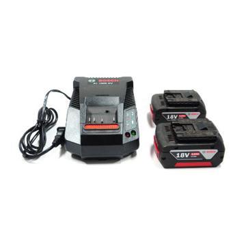博世电池套装,2电1充套装18V/4.0Ah,1600A001B5