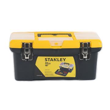 """史丹利 Jumbo塑料工具箱16"""",STST16028-8-23"""