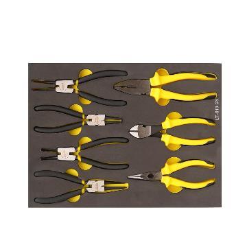 史丹利通用钳工具托,7件套,LT-013-23