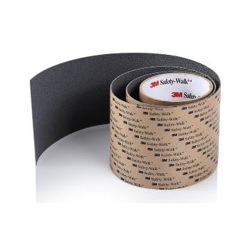 3M防滑贴,610一般平面用,黑色,4英寸x60英尺,单位:卷