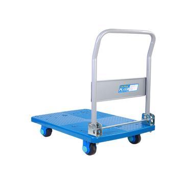 连和 超静轮单层折倒式手扶手推车,超静轮 150KG,PLA150-DX
