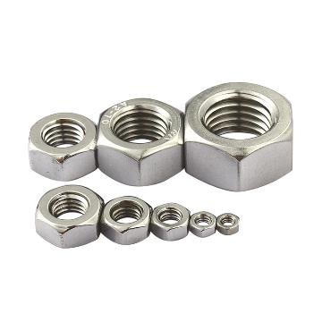 六角螺母,DIN934,M2,不锈钢A2,1000个/包