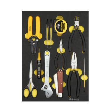 史丹利电子工具托,12件套,LT-018-23
