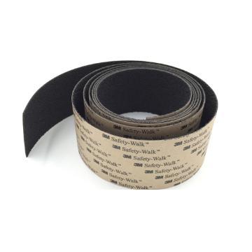 3M防滑贴,310舒适中号砂面黑色,2英寸x60英尺,单位:卷