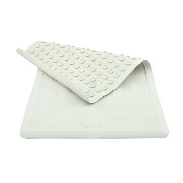 乐柏美Rubbermaid浴缸垫,Safti-Grip®浴缸垫,白色,中号 单位:片