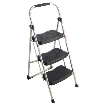稳耐 铁制宽踏板家用梯(梯长1.2米),踏板数:3,额定载荷(KG):102,工作高度(米):0.71,223-6CN