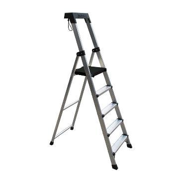 稳耐 单侧平台人字梯,踏台数:5,额定载荷(KG):110,工作高度(米):1.1,P275CN