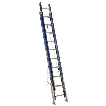 稳耐 绝缘两节延伸梯(带平衡器),踏台数:24,额定载荷(KG):136,工作高度(米):5.5,耐压(KV):35,D8224-2EQ