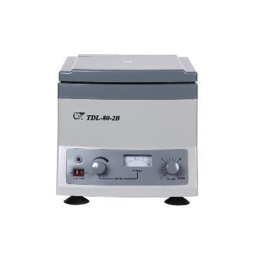 低速台式离心机,4000转/分,TDL-80-2B,安亭