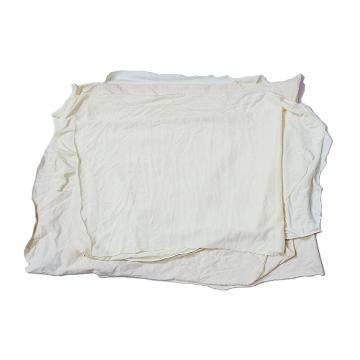 本白棉机用白擦布,10KG/捆 宽度40cm左右 长度70cm以内,棉成分95%,单位:捆