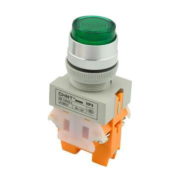 正泰CHINT NP4系列按钮,NP4-11DZS 绿 220V LED