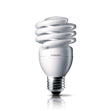 飞利浦 Tornado T2 23W CDL 白光 E27,螺旋形节能灯 单位:个