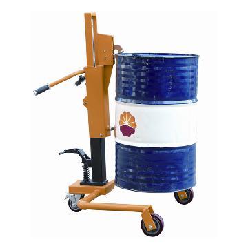 虎力 经济型液压油桶搬运车,平行支腿三轮型,载重350KG