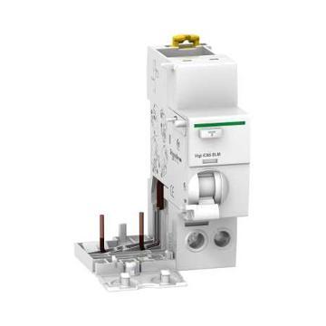 施耐德Schneider 电磁式剩余电流动作保护附件,Acti9 Vigi iC65 ELM 2P 63A 30mA AC,A9V52263