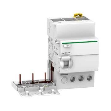 施耐德Schneider 微型断路器附件,Acti9 Vigi iC65 ELM 3P 40A 30mA AC,A9V52340