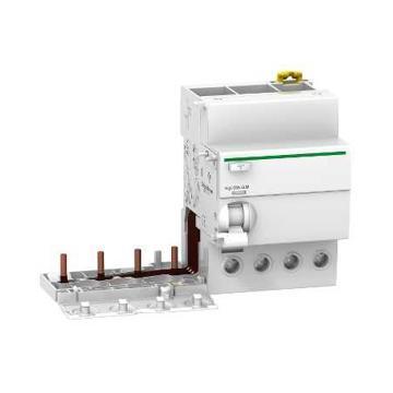 施耐德Schneider 微型断路器附件,Acti9 Vigi iC65 ELE 4P 40A 300mA AC-type,A9V89440