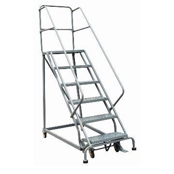 虎力 移动登高平台梯,额定载重(kg):160 顶层平台离地高度:1530mm,RL356B