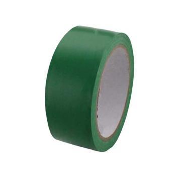 绿色PVC地面胶带,50mmx22m