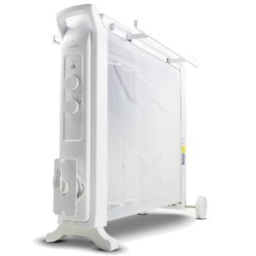电热膜取暖器(白)TOSOT,格力,NDYC-22b-WG,220v,2200w,过热保护,恒温,倾倒自动断电,加湿,4档功率可调