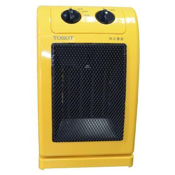 PTC陶瓷暖风机(黄)TOSOT,格力,NTFA-18,220v,1800w,倾倒自动断电,3档功率可调