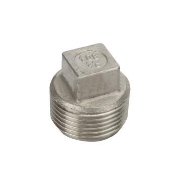 国产/GUOCHAN TC-10R-SS304-16 丝堵,不锈钢DN25,16kg